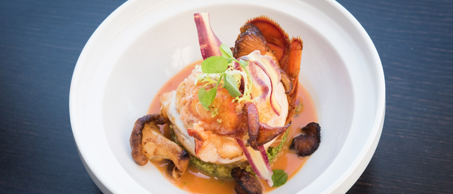 Meet The Chef Splashes Lobster DIsh