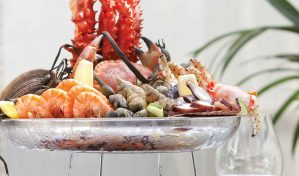Fruits de Mer at Splashes Bar