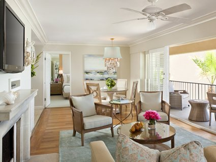 One Bedroom Penthouse Suite at Surf & Sand Resort