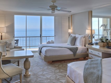 Double Queen Accommodations at Surf & Sand Resort