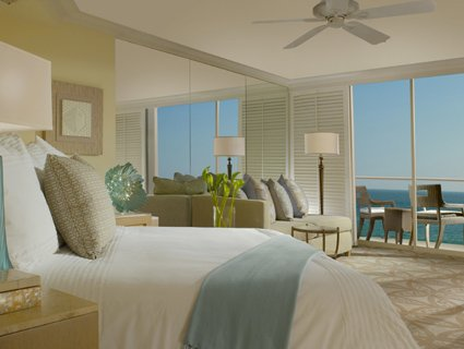 Towers Room with Ocean View at Surf & Sand Resort