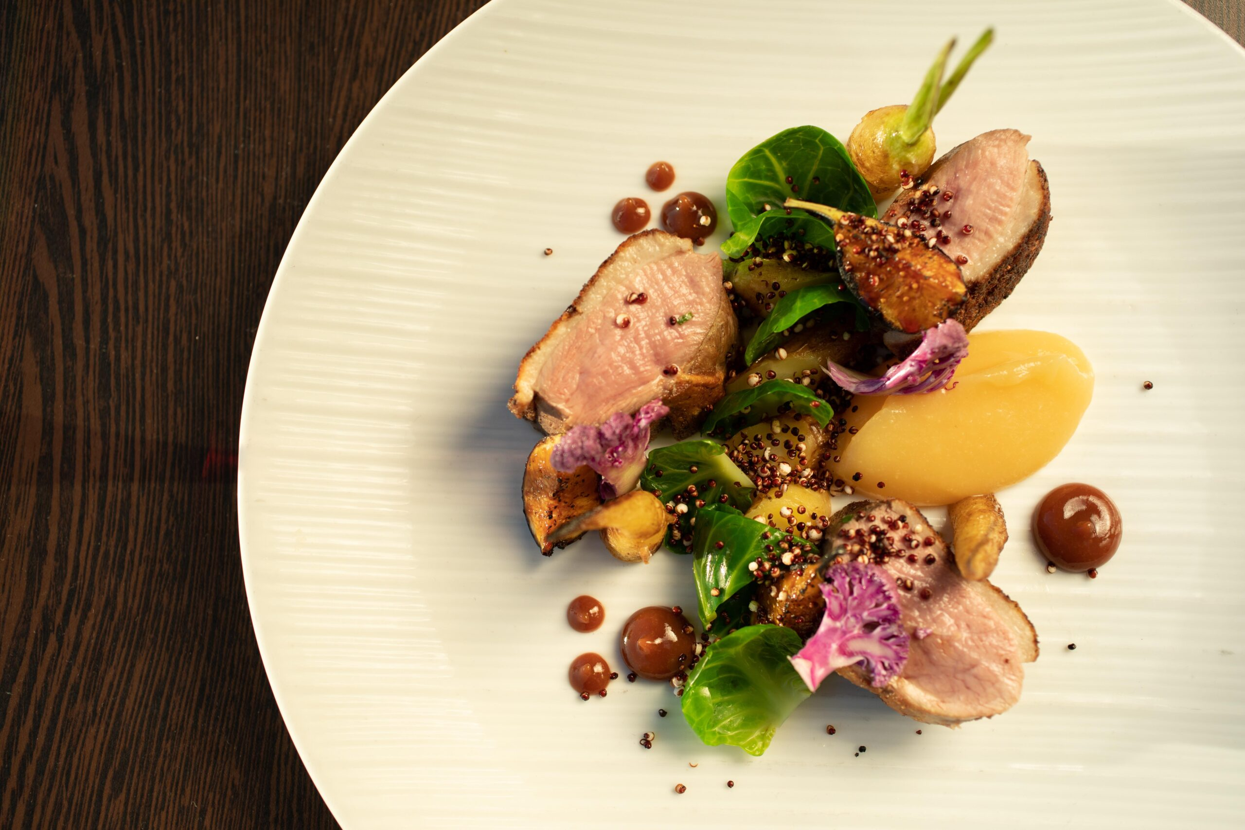 Maple leaf duck breast